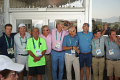 The crew that designed, constructed, and grassed the Olympic golf course.